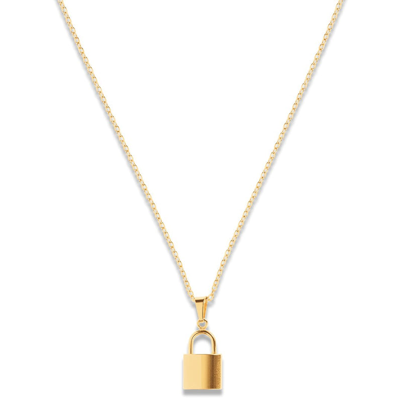 Ciara Lock Necklace