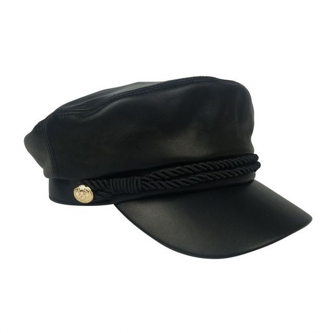 Emmy Leather Cap