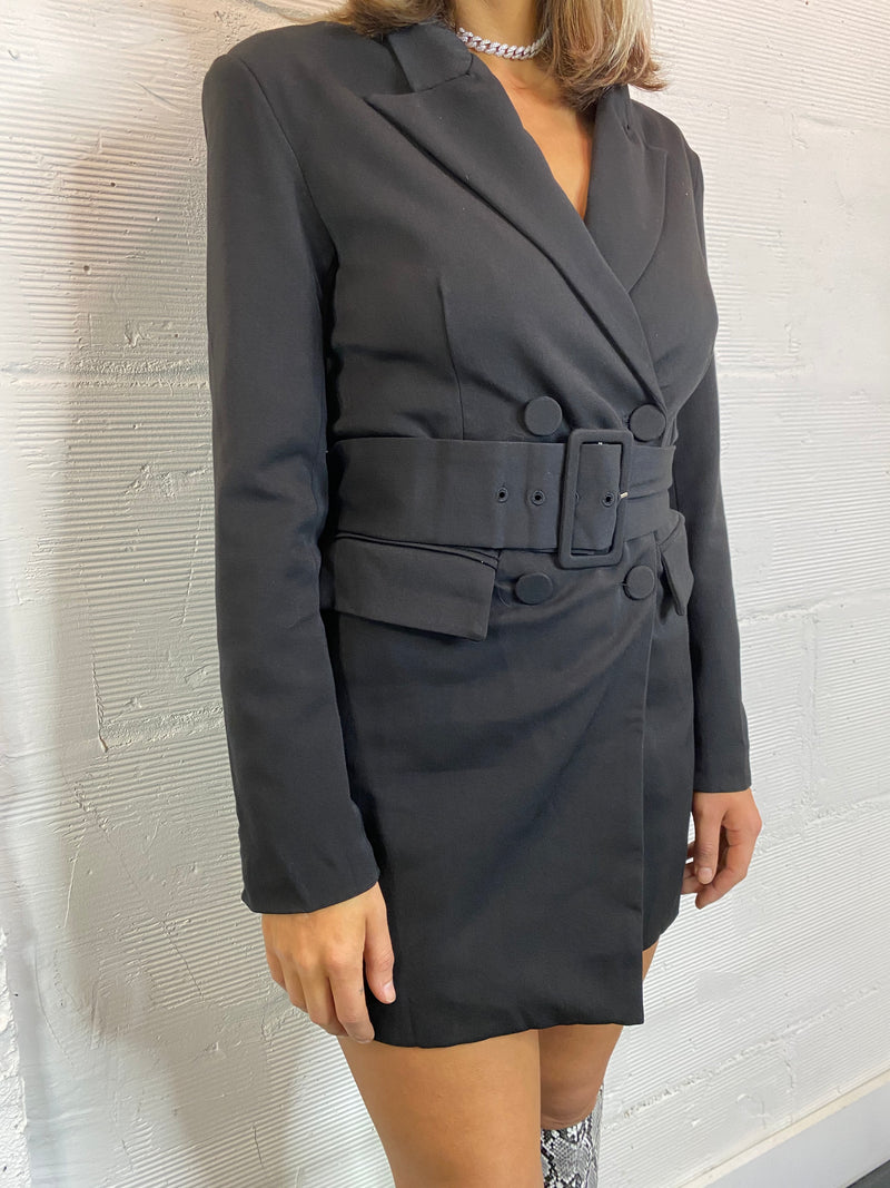 She Means Business Blazer Dress