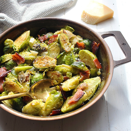 Bacon & Parmesan Brussels Sprouts