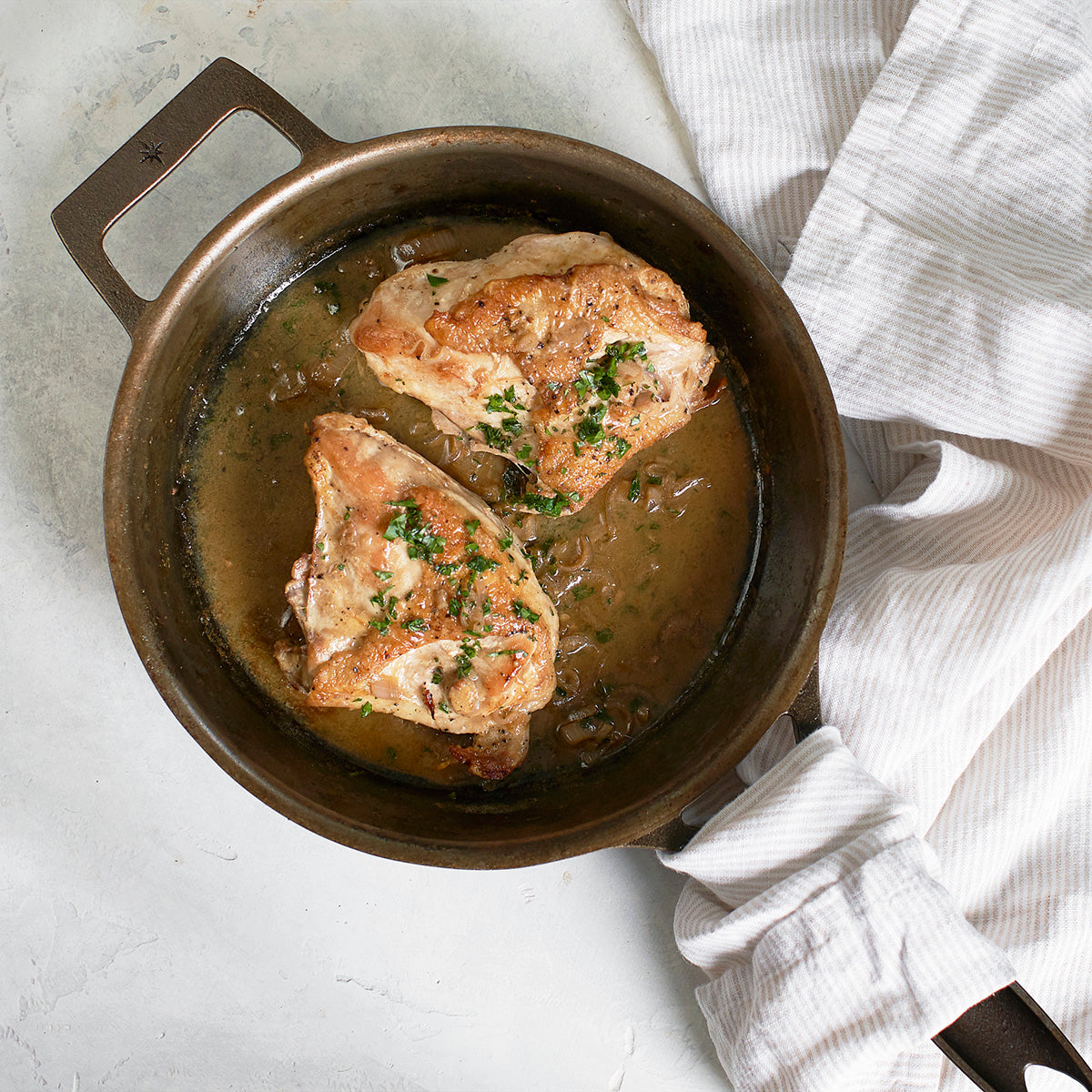 Chicken Breast with Pan Sauce