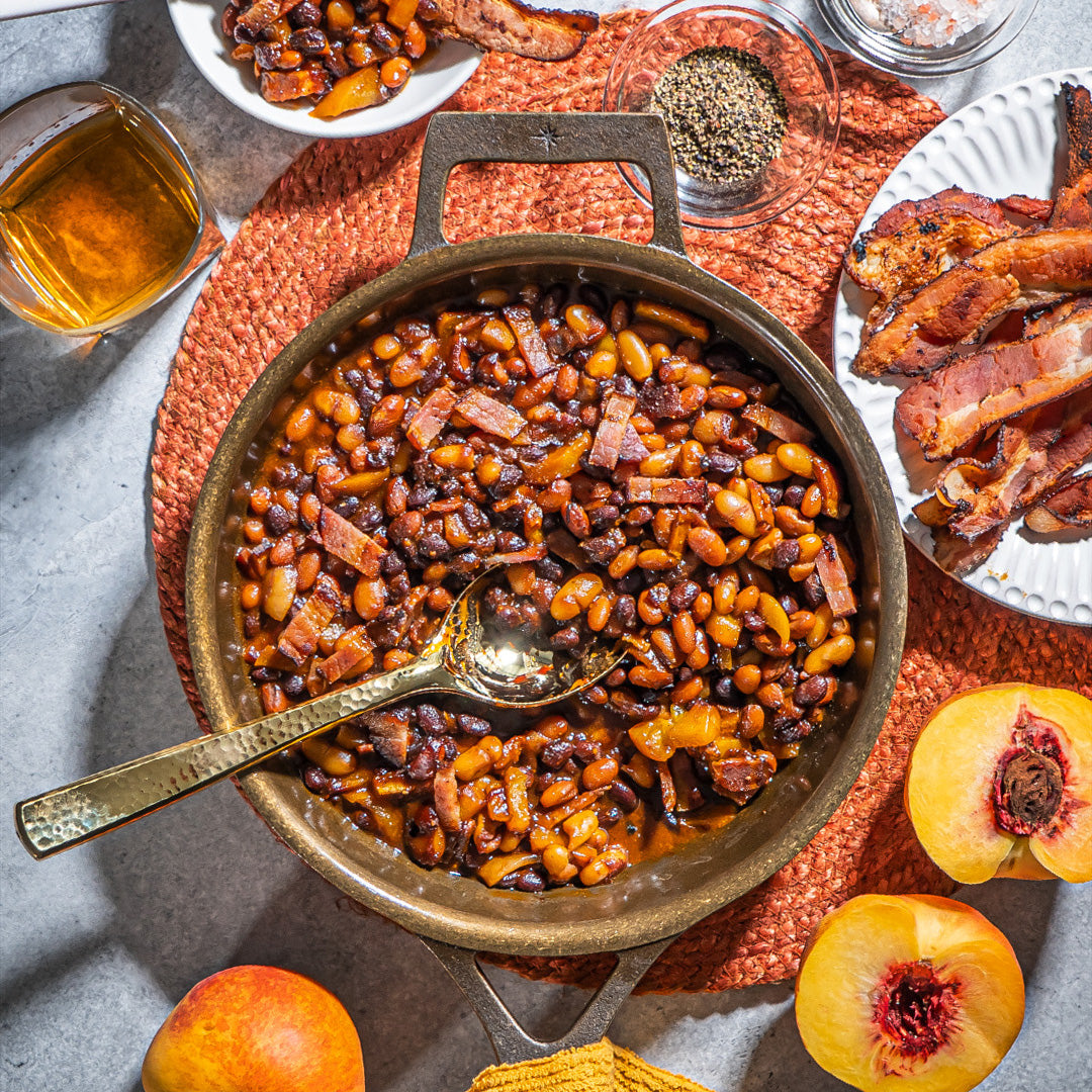 Smoky Maple Bourbon Beans