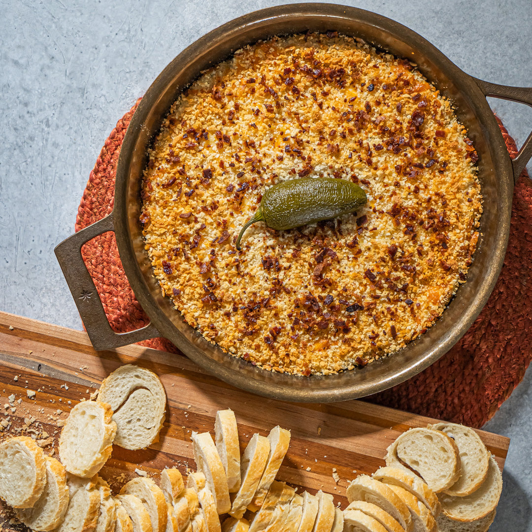 High Brow Jalapeño Popper Dip