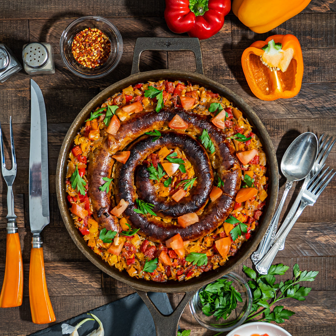 Italian Sausage and Rice Skillet