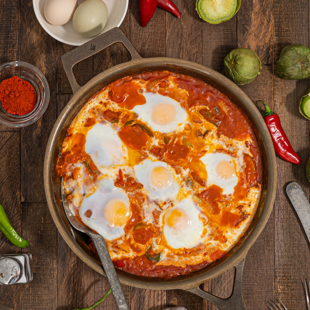 Hearty Spicy Shakshuka