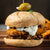 Fried Chicken Sandwich with Olive Tapenade and Feta-Dill Sauce