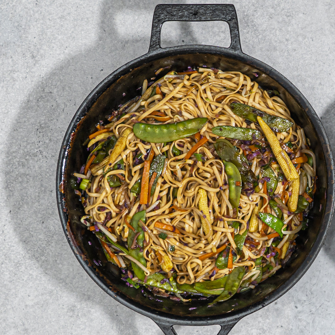 Pulled Pork Lo Mein