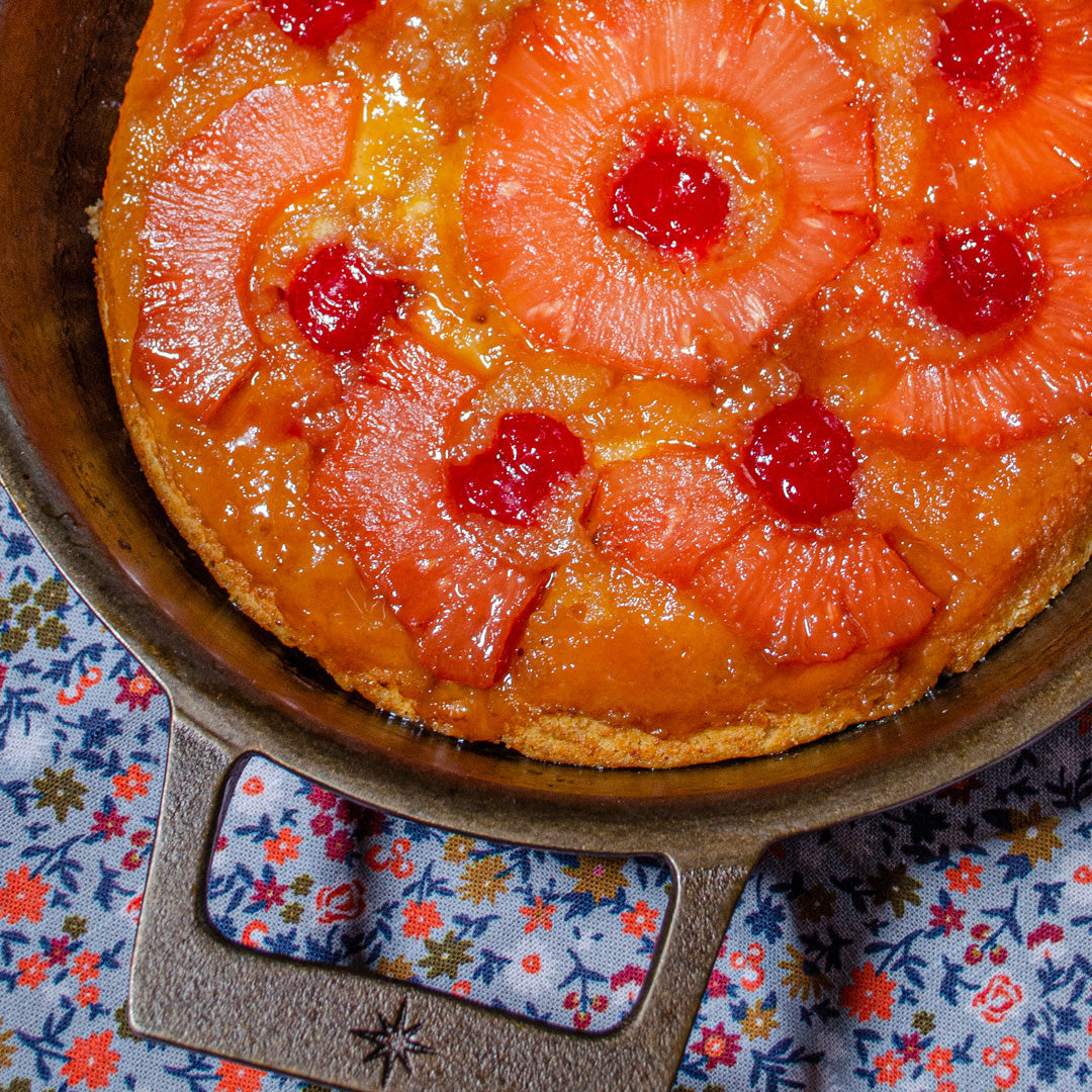 Pink Pineapple Upside Down Cake