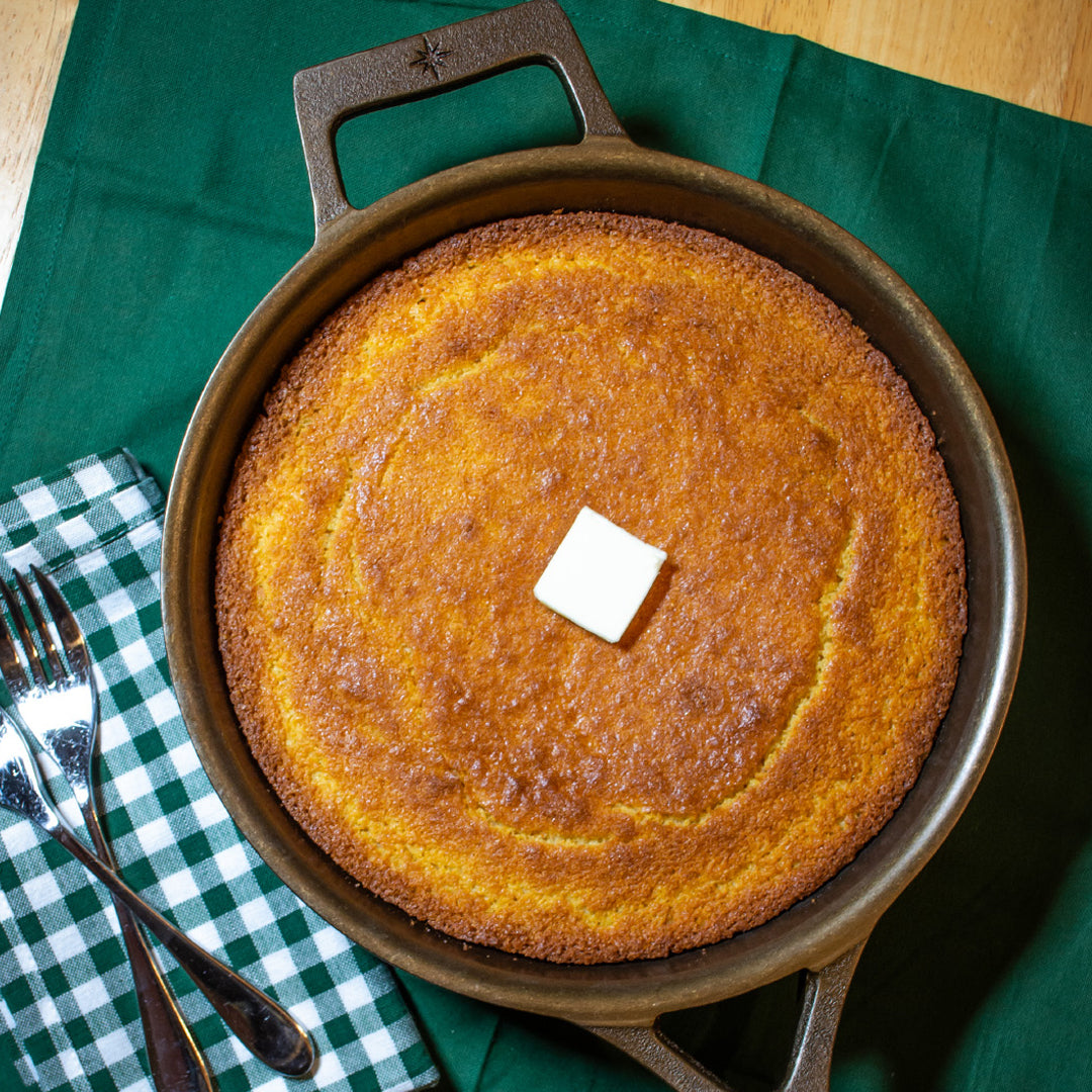 Thanksgiving Skillet Cornbread