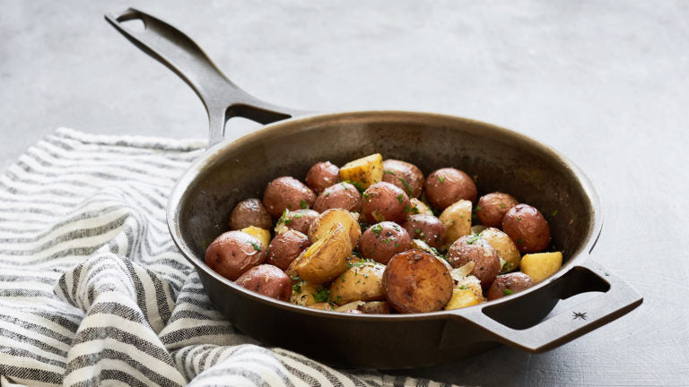 cast iron skillet potatoes