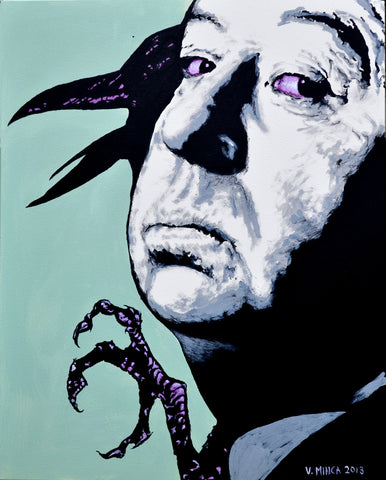 Alfred Hitchcock Art Print