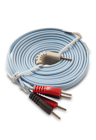 Tone-A-Matic 4-in-1 wire for Electronic Muscle Stimulators and TENS machines. Wire has four leads.