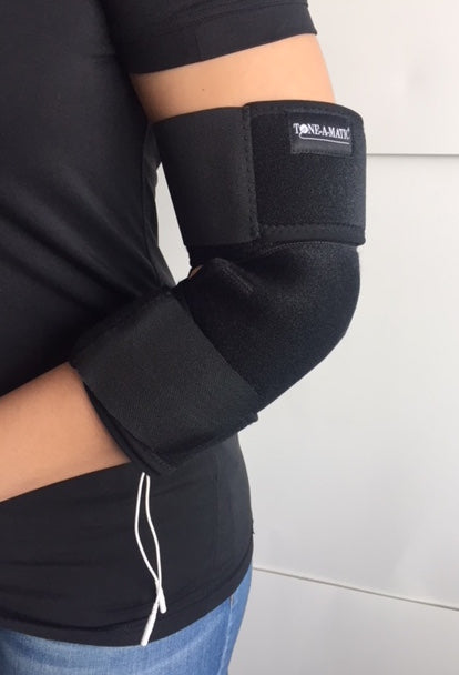 knee and elbow brace - Tone-A-Matic Electronic Muscle Stimulators in Canada