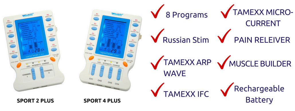 TAMTEC SPORT PLUS: Tone-A-Matic's Newest EMS/TENS/IFC Machine