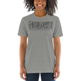 IOD Short sleeve t-shirt, Distressed logo