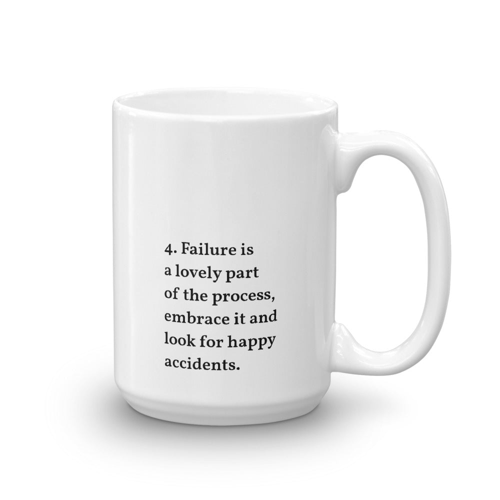 IOD Manifesto Mugs, No.4 Embrace the process