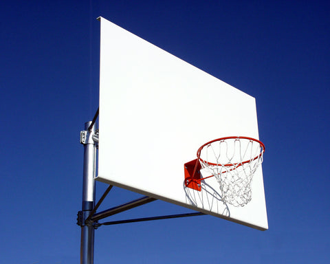 Straight Single Basketball Posts (Powdercoated)