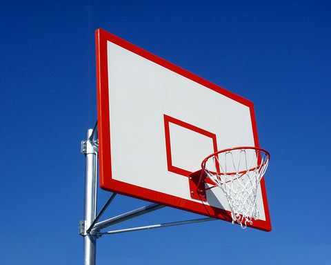 Rectangular Basketball Backboard Targets and Borders