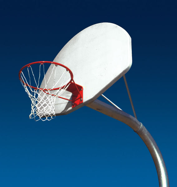 Single Curved Basketball Posts