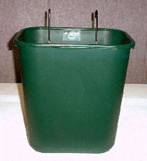 Court Caddy Basket Green