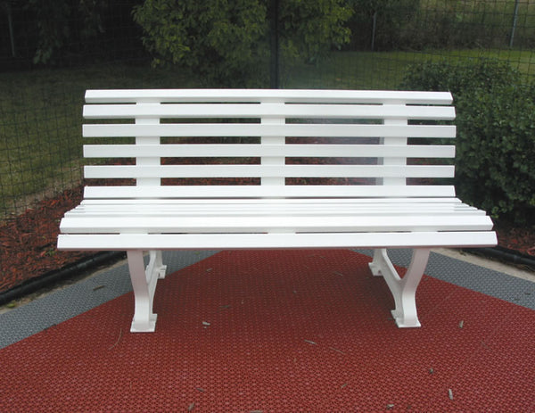 5' Deluxe Courtsider , White
