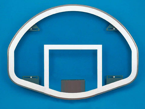 Fan Shaped Tempered Glass Basketball Backboard - Fan Shape