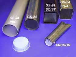 "3-1/2"" Round Ground Sleeve, (GS-24 RD)"