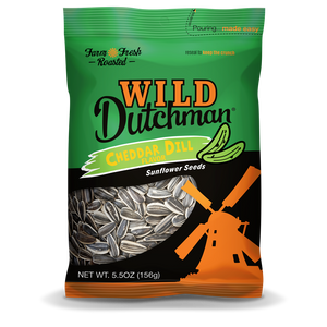 Cheddar Dill Flavored Sunflower Seeds • 5.5 OZ