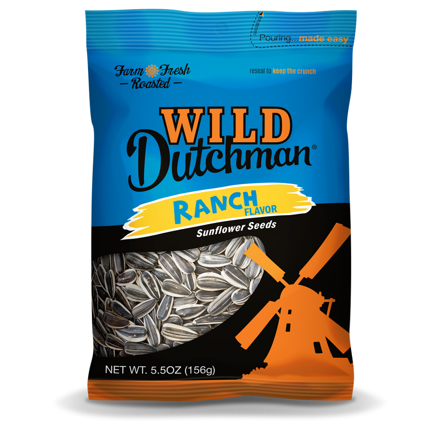 RANCH FLAVORED SUNFLOWER SEEDS • 5.5 OZ