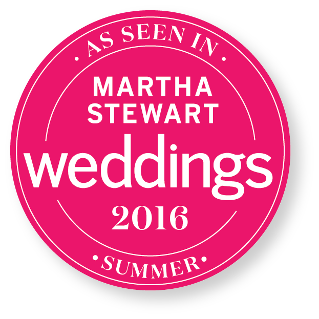 Dunkirk Designs Engagement Party Invitations featured in Martha Stewart Weddings