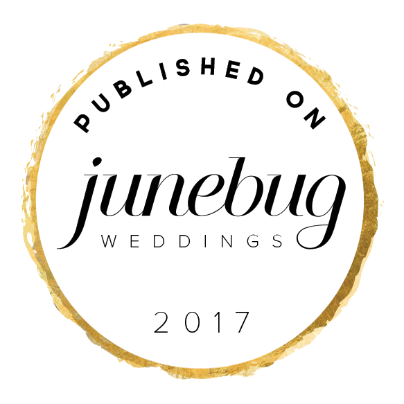 Dunkirk Designs Wedding Invitations featured in Junebug Weddings