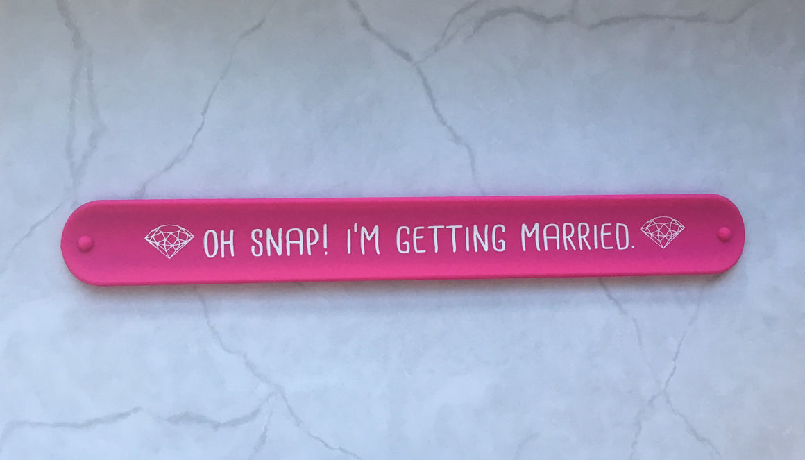 snap bracelet // oh snap! i'm getting married