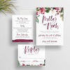 Secret Garden Wedding Invites  /  Forest