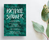 Bold Watercolor Party or Shower Invites