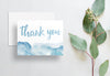 Watercolor Ombre Thank You Cards