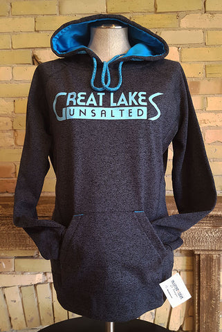 Great Lakes Unsalted Glitter Hooded Sweatshirt - Great Lakes Made - 1