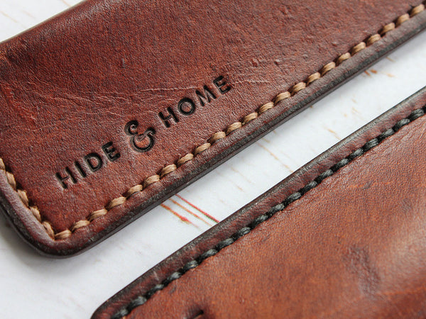 Hide & Home Hand made leather goods UK
