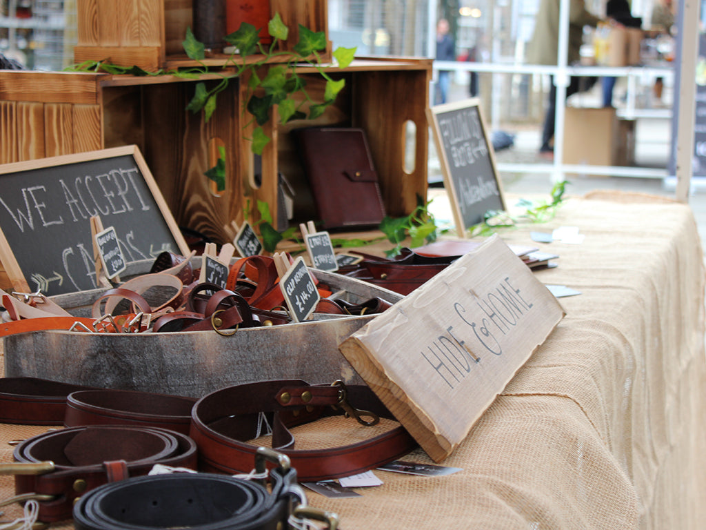 Hide & Home handmade leather goods UK