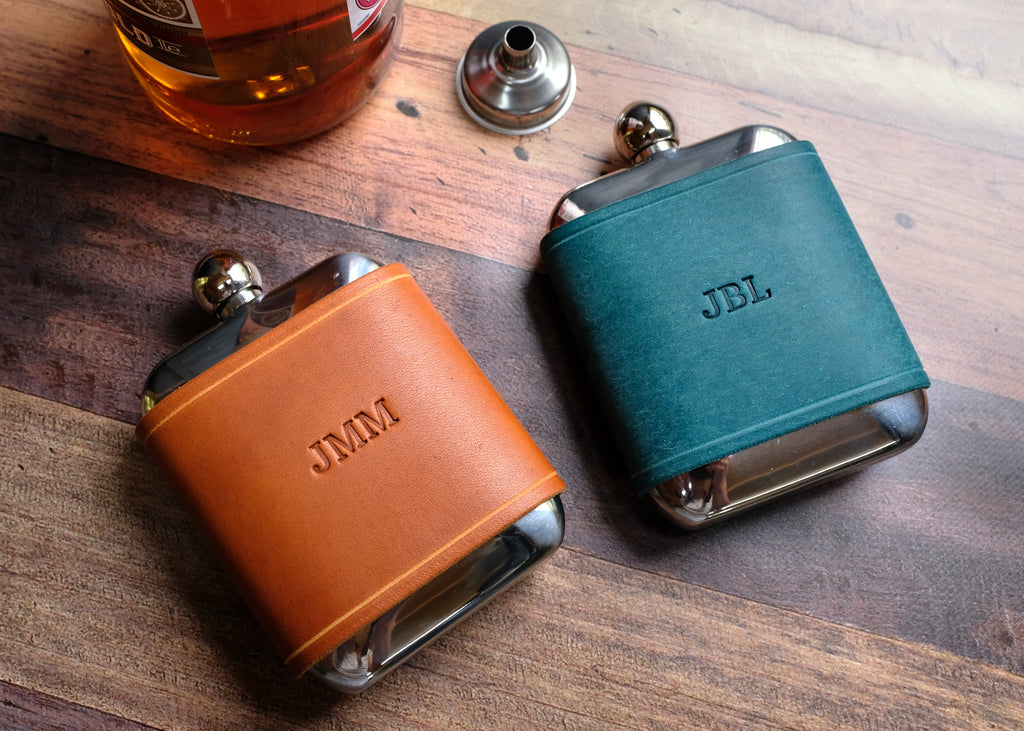 Leather Flask 6oz