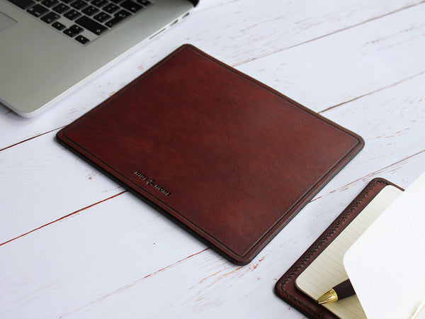 Classic Leather Mouse Mat - Hide & Home - 1
