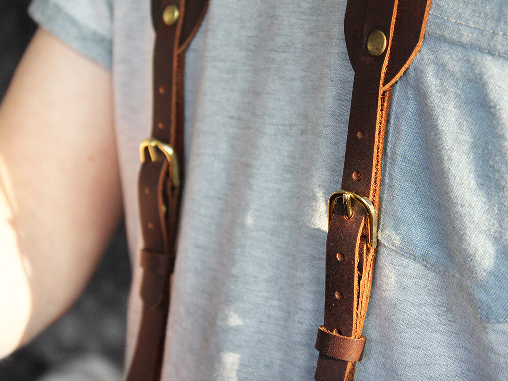 Handmade Leather Camera Strap - Hide & Home - 5