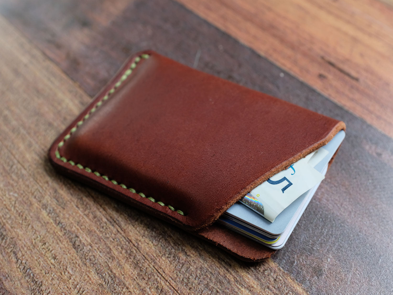 Italian Leather Card Pouch