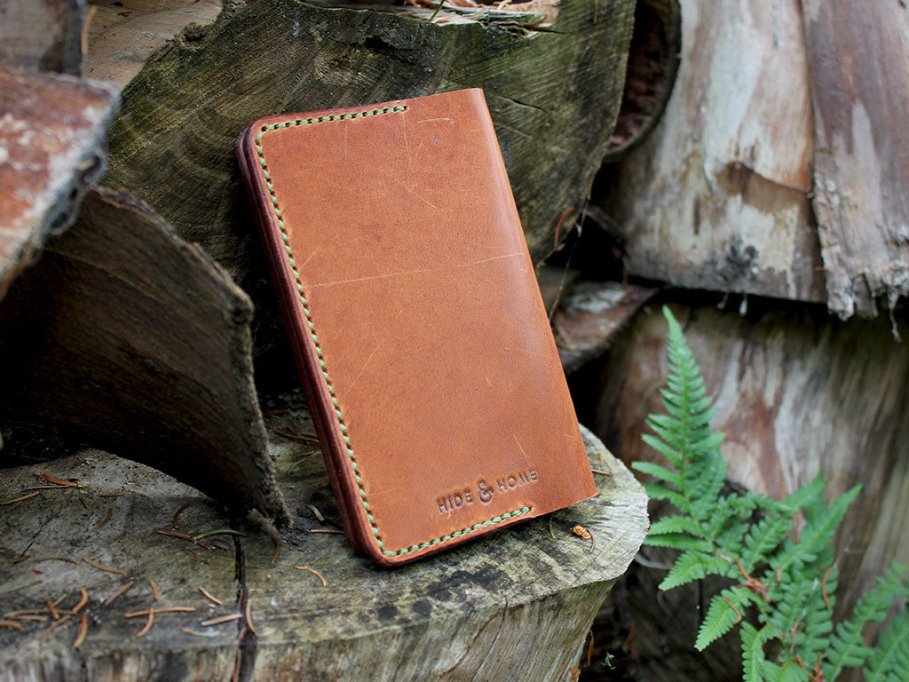 Horween Dublin Leather Passport Holder