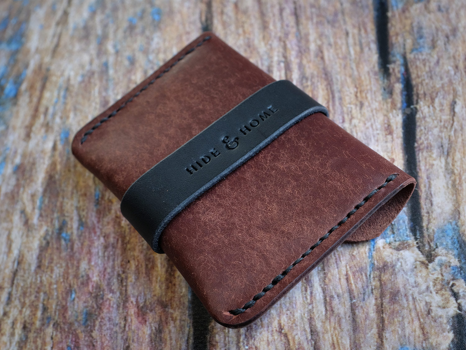 Italian Leather Strap Wallet