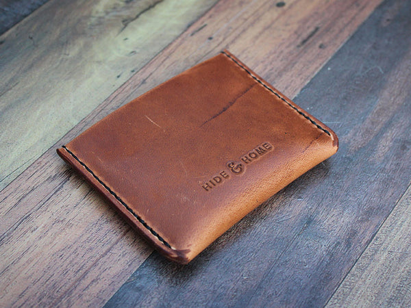 Leather Card Wallet - Horween Dublin