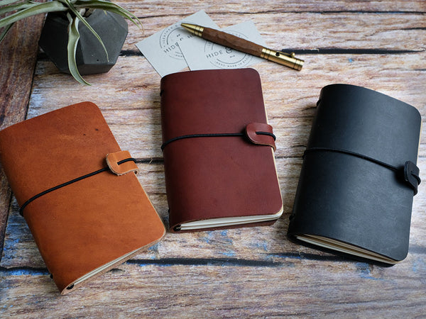 Midori Travellers Notebook Cover - Pocket