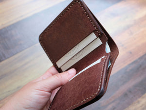 Italian Leather Bi-fold Wallet