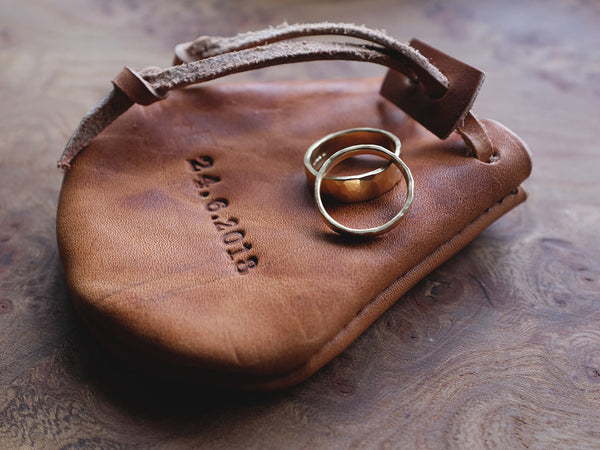 Ring Pouch - Horween Dublin Natural