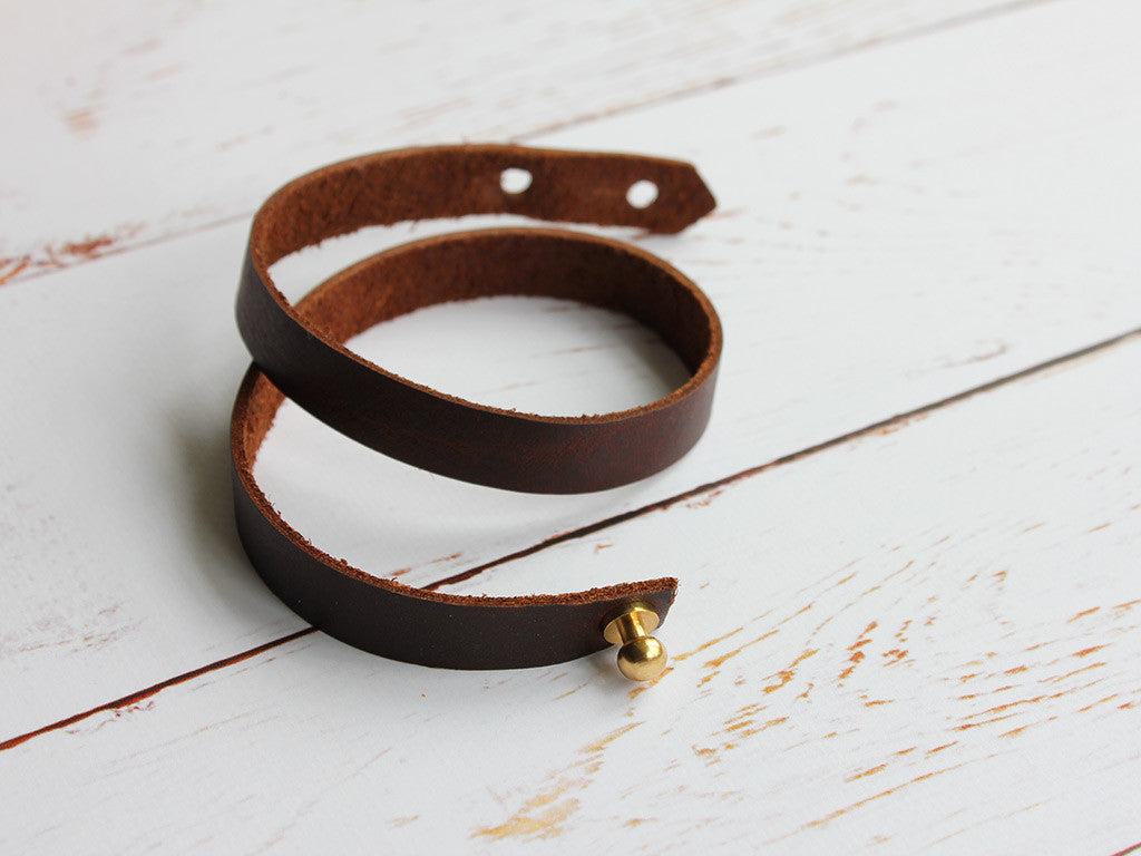 Leather Wrap Cuff - Hide & Home - 5