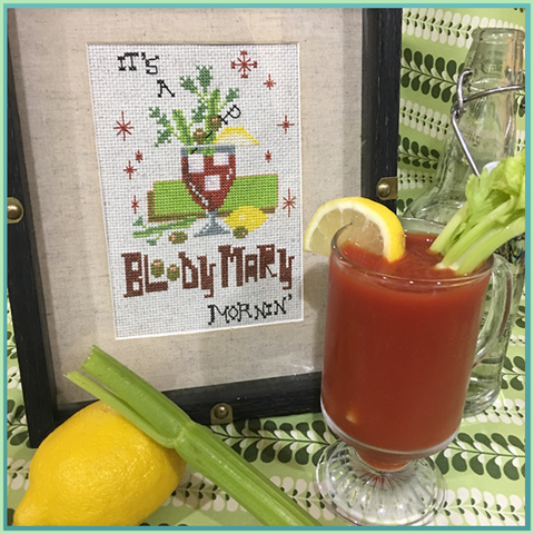 Candy Stitch Pattern- No. 7 Bloody Mary Mornin'
